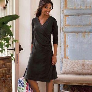 Soft Surroundings Large Wear Anywhere Dress Black